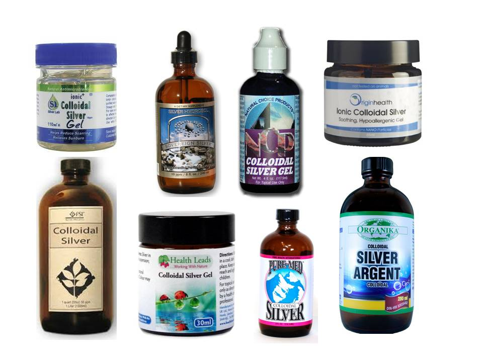 Natural Ear Infection Remedy Colloidal Silver