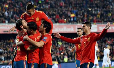 موعد مباراة اسبانيا والسويد ضمن مباريات تصفيات ليورو 2020