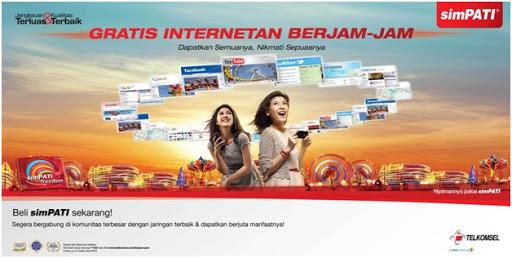 Cara Internet Gratis simPATI Terbaru Juni 2018