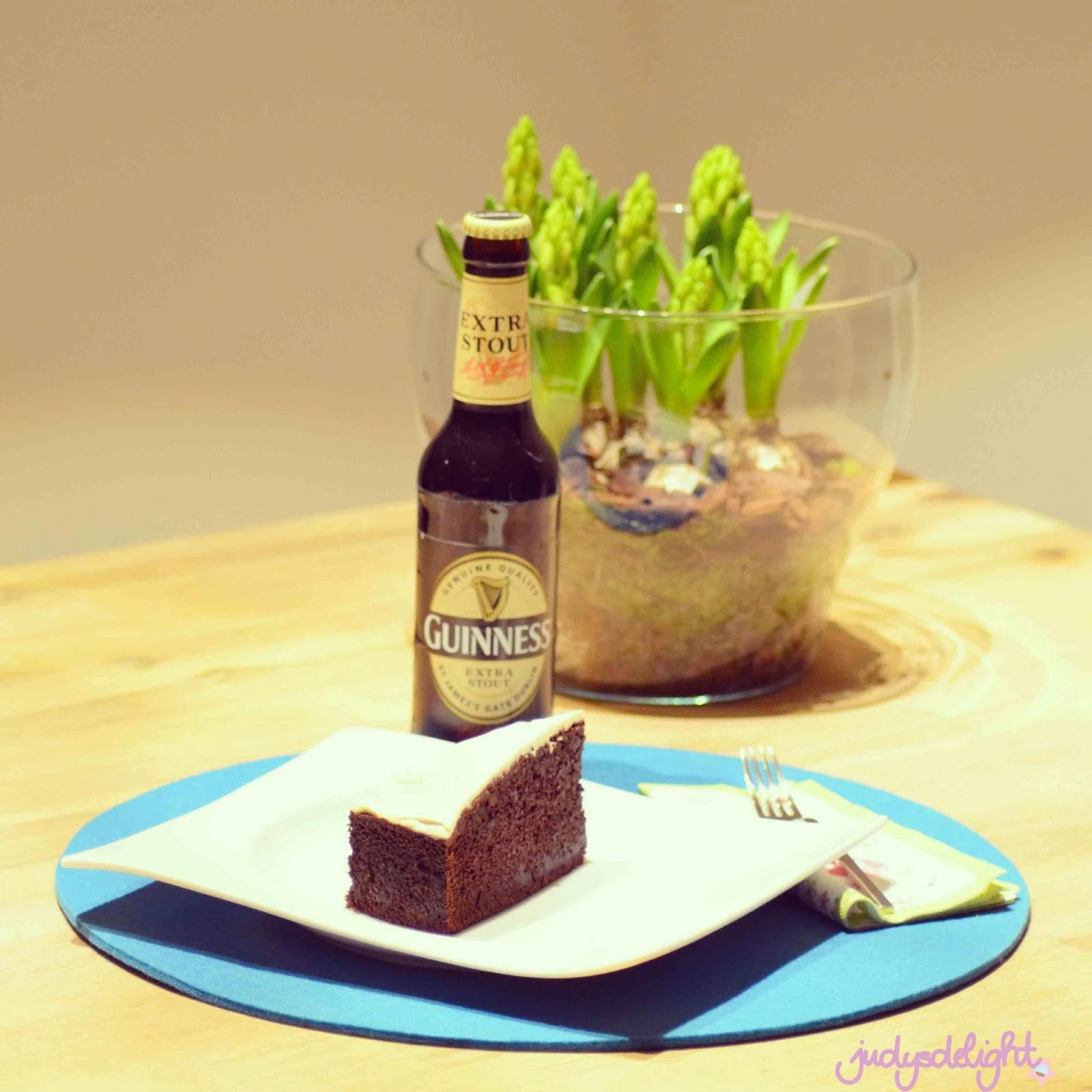 Guinesskuchen - Kuchen mit Bier | judysdelight