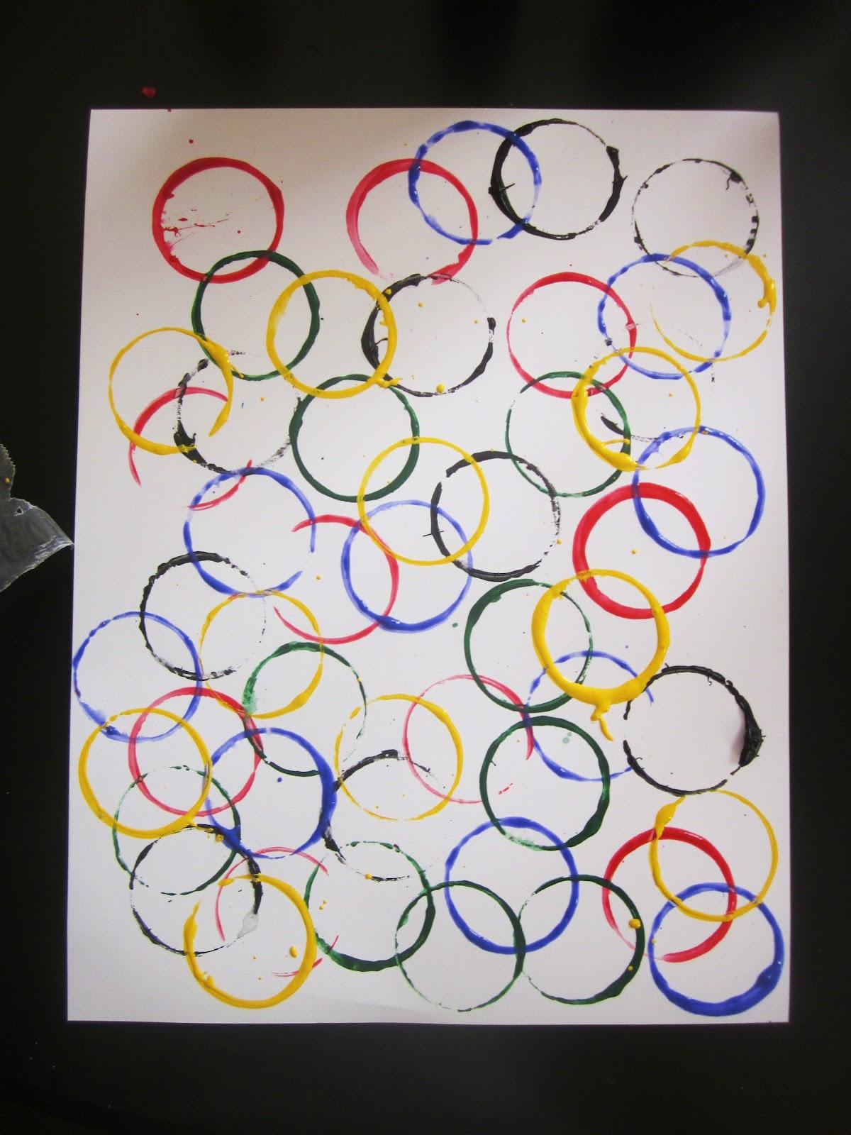 Embellishing Life Olympic Rings Craft