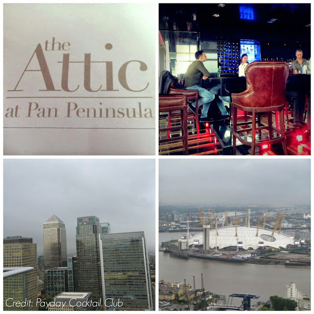 the Attic at Pan Peninsula Cocktail Bar Review
