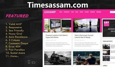 GooAMP AMP Premium Blogger Template