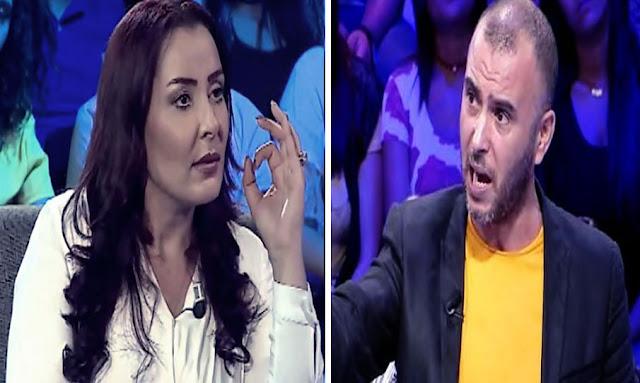 """عربية حمّادي تدافع على عبير موسي وتصف لطفي العبدلي بـ""""قليل التربية""""(فيديو)"""