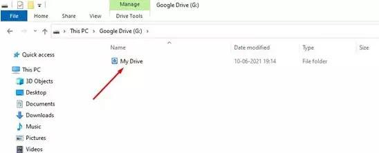 Cara Menambahkan Google Drive ke File Explorer di PC Windows 10-5