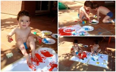manualidad infantil pintamos