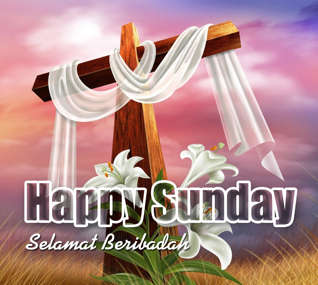 DP BBM Hari Minggu Kristen Happy Sunday Gambar Lucu Terbaru
