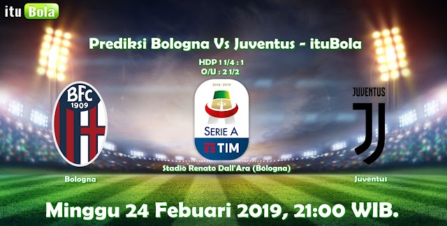 Prediksi Bologna Vs Juventus - ituBola