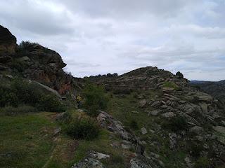 Camino a Villares de Jadraque. Rediles