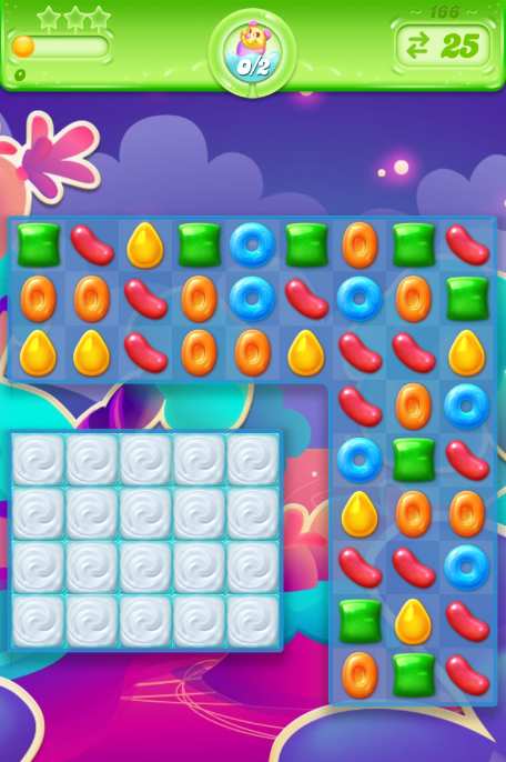 Candy Crush Jelly Saga 166