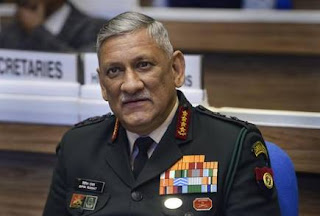 General Bipin Rawat: India's First Chief of Defence Staff