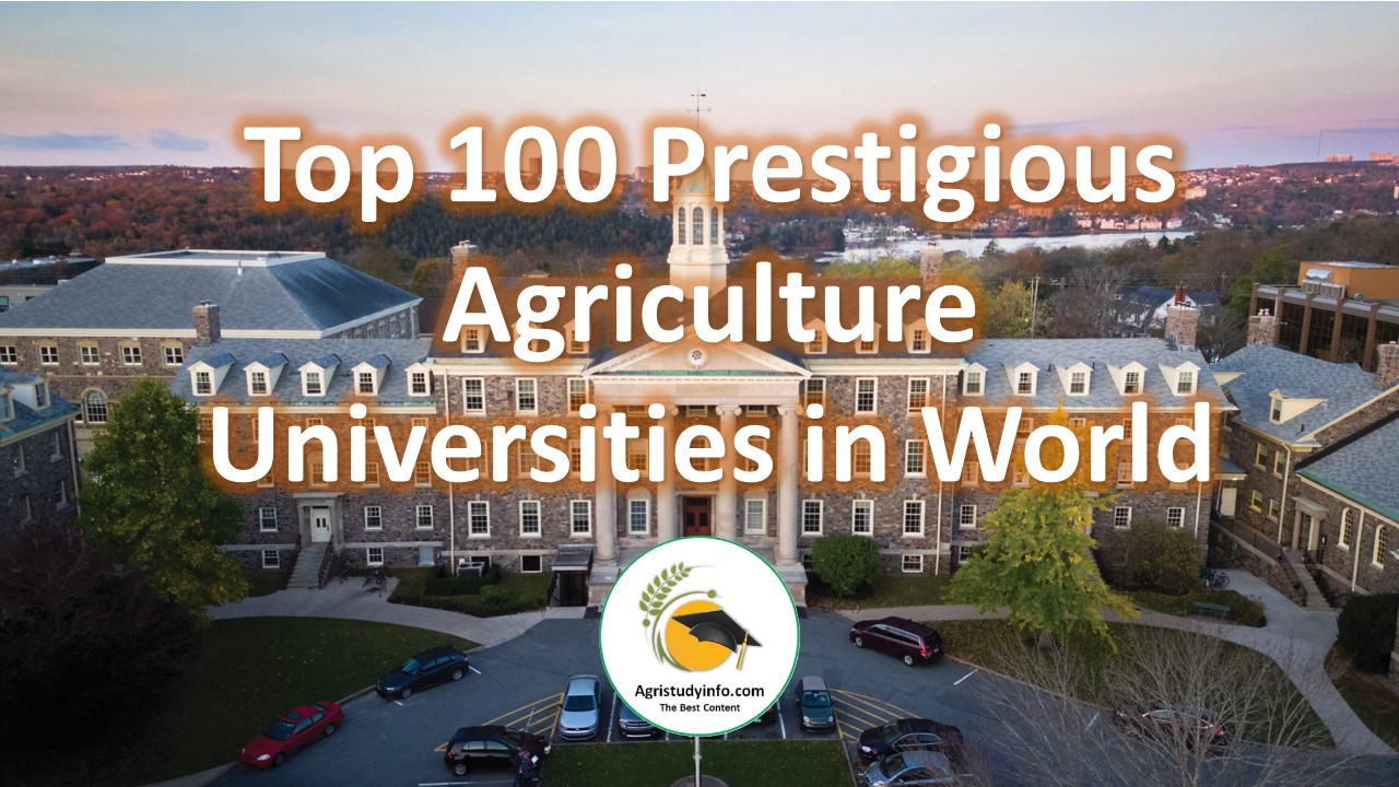 Read more about the article Top 100 Prestigious Agriculture Universities in World