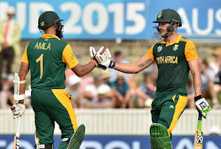 Hashim Amla 159 - Faf du Plessis 109 - South Africa vs Ireland Highlights - 24th Match - ICC Cricket World Cup 2015