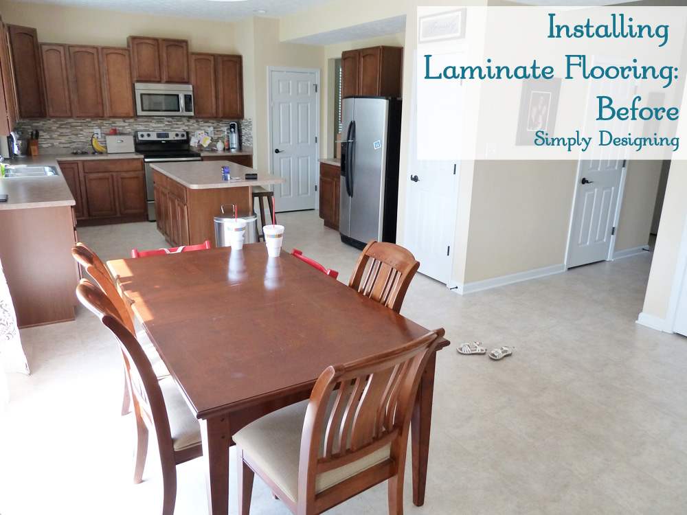 How To Install Laminate Wood Flooring Diy Homeimprovement Simply Designing