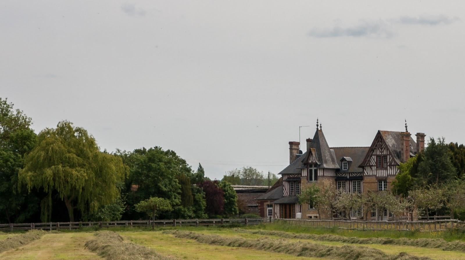 manoir de grandchamp pays d'auge normandie