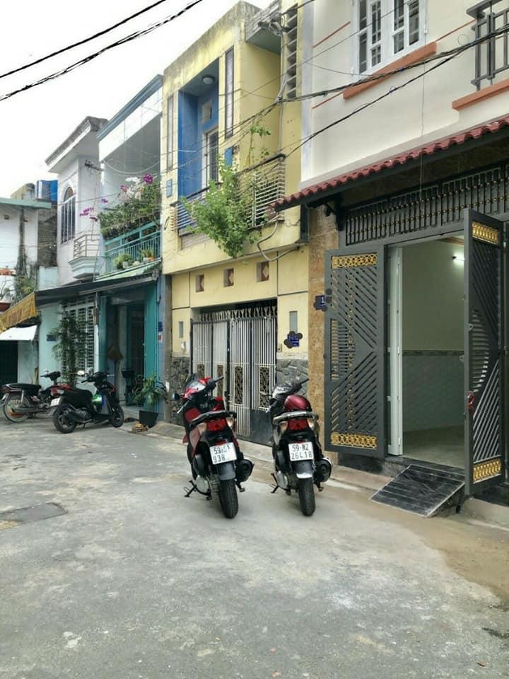 Bán nhà Hẻm xe hơi Dương Văn Dương phường Tân Quý quận Tân Phú. DT 4x13m