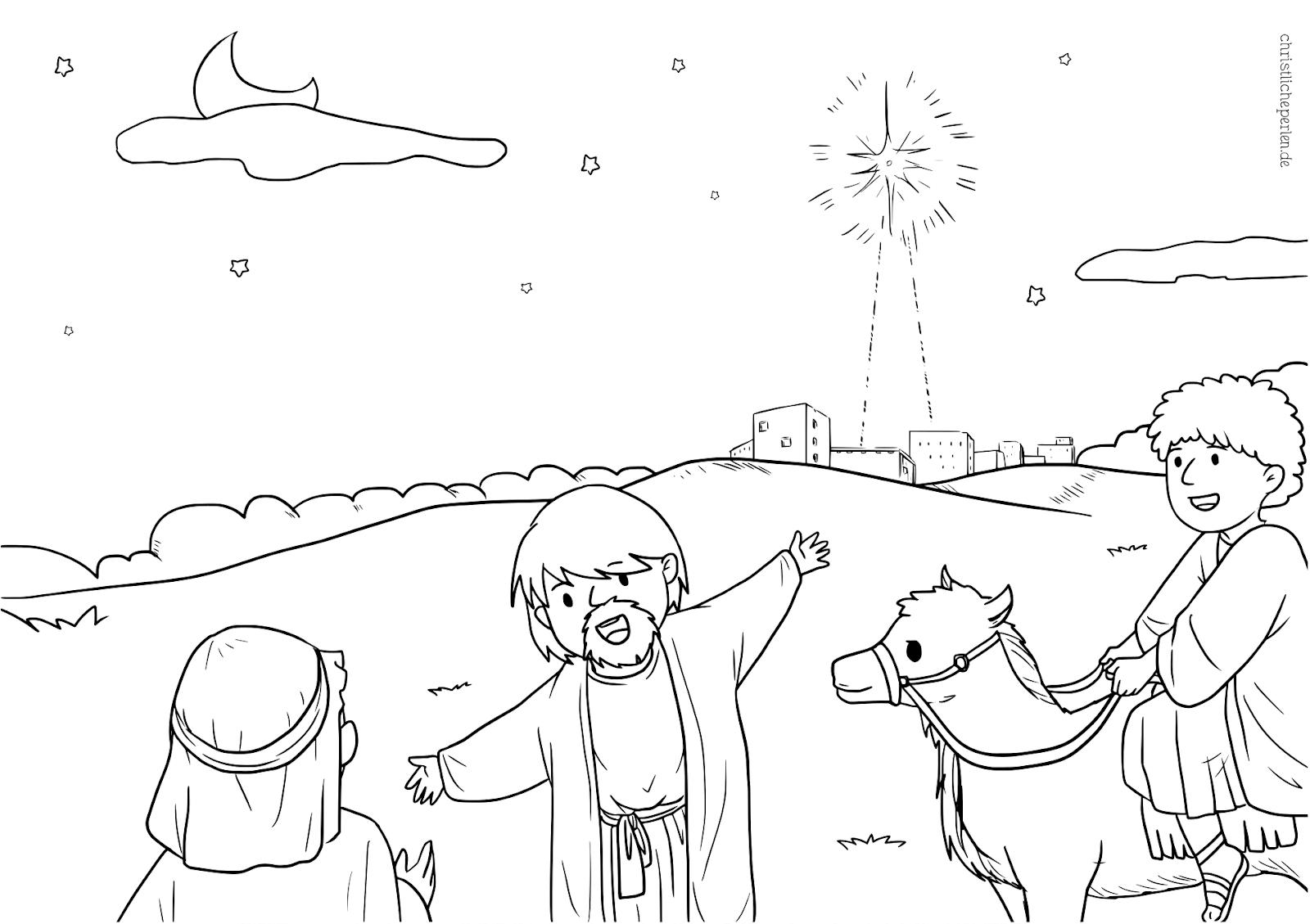 Ausmalbild Engel Weihnachten Kostenlos