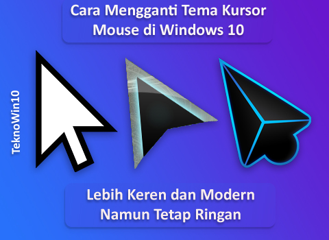 Cara Mengganti Tema Kursor/Pointer Mouse di Windows 10