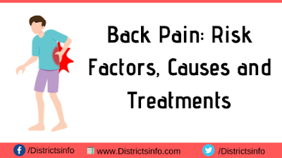 Back Pain: Risk Factors, Causes and Treatments