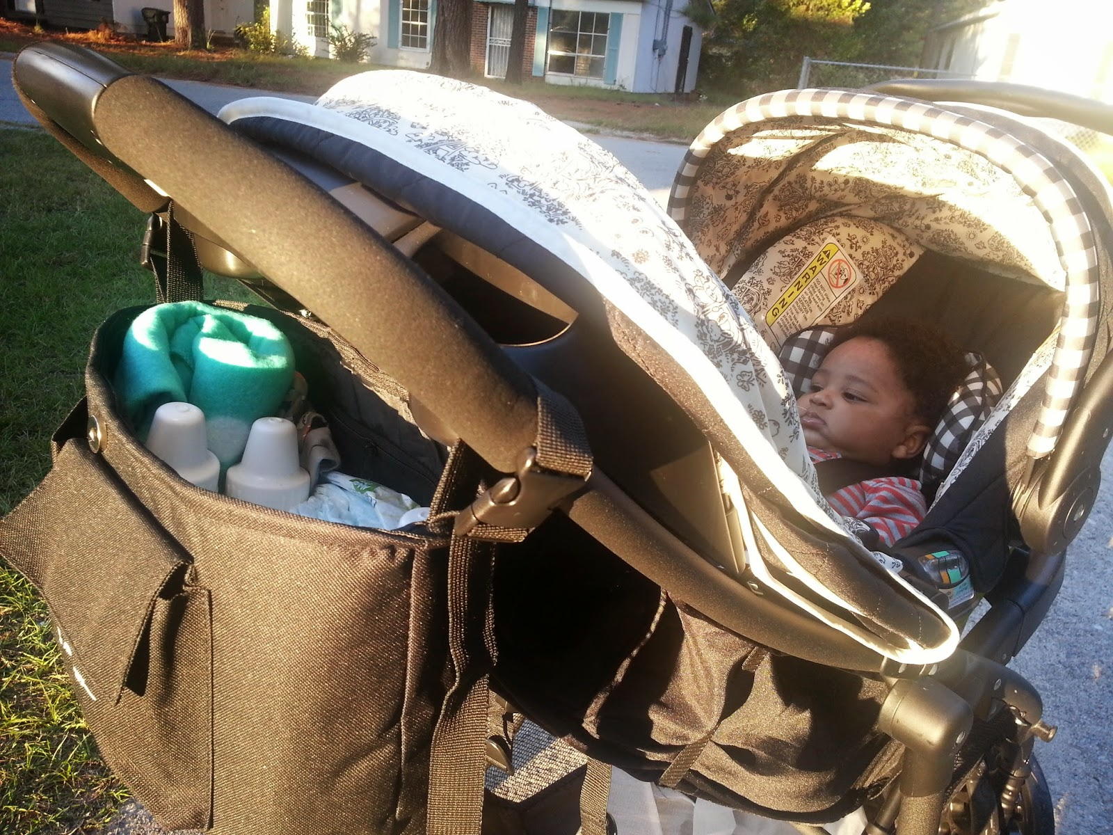 children n us stroller organizer review