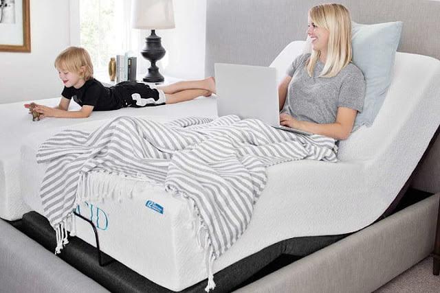 Lucid L300 Adjustable Bed