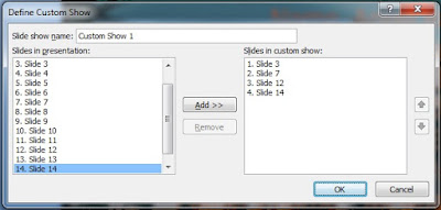 Custom Show option and its uses in Power Point in hindi