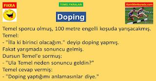 En Komik Fıkralar - Temel Fıkraları - Doping - komiklerburada