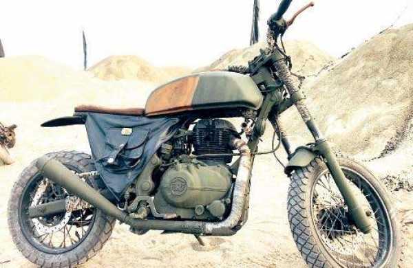 What is the hero kgf bike