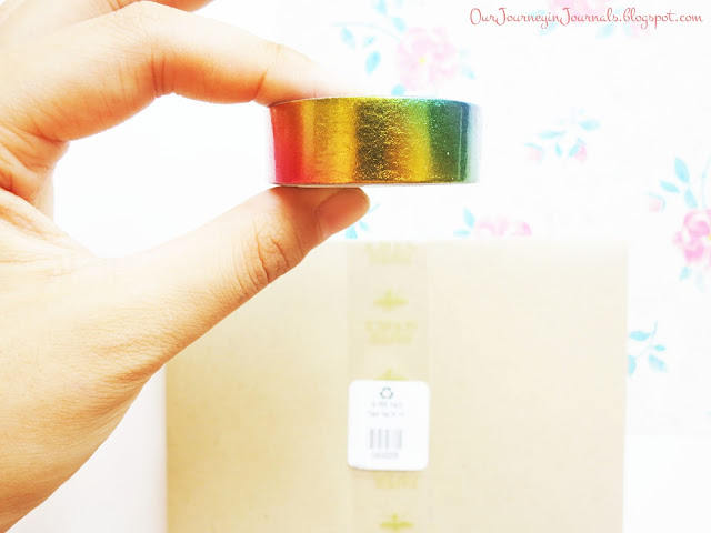 washi tape from paper source in soho