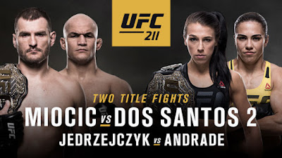 UFC : Two Titles on the Line at UFC 211
