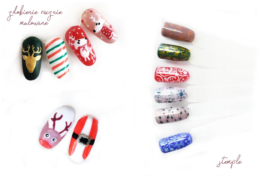 Primes Beauty Blog Pomysły Na Zimowo świąteczne Paznokcie Hybrydowe