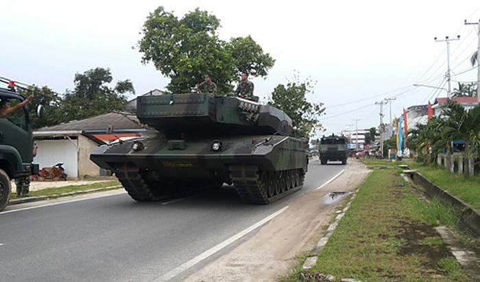 Tank Leopard Revolution RI