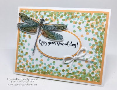 Stampin' Up! Dragonfly Dreams Bundle, Stamping to Share