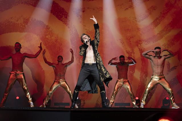 Imagen Festival de La Cancion de Eurovision La historia de Fire Saga