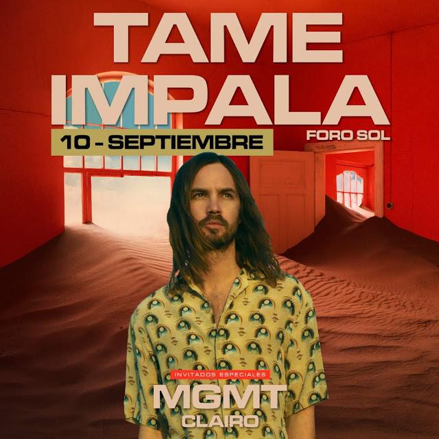 Tame Impala en México