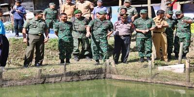 Inovasi TNI Menunjang Pendapatan Petani Lele
