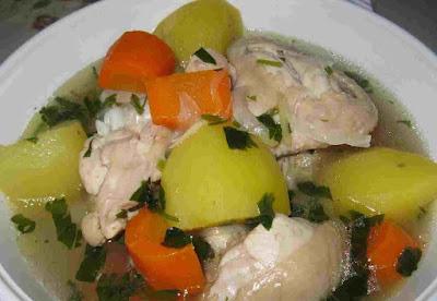 Resepi Sup Ayam Simple dan Mudah +++