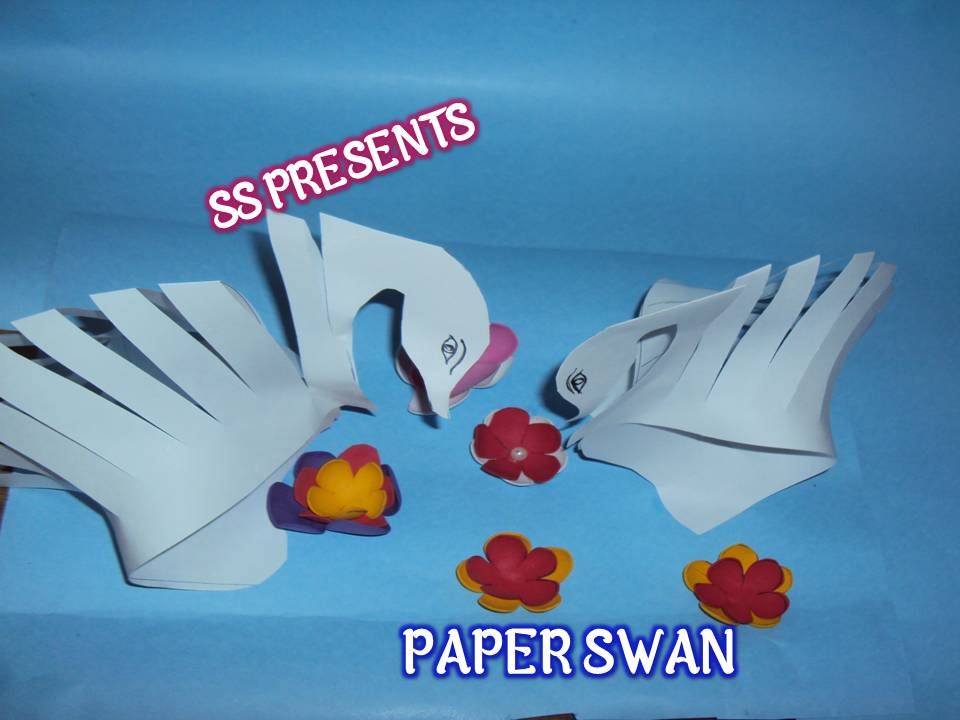 How To Make Paper Swan Ssartscrafts