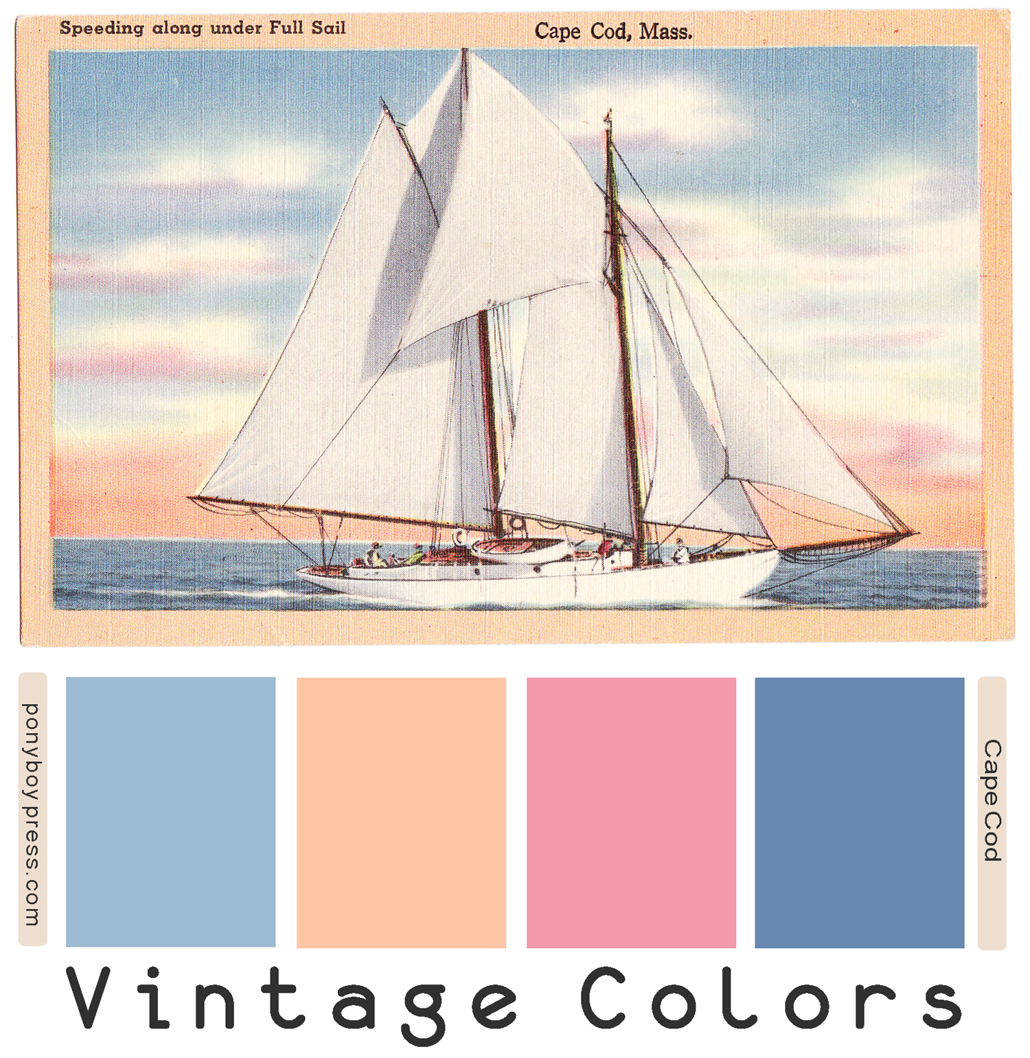 Cape Cod Color Schemes: Zine Maker, Design Lover, Dedicated