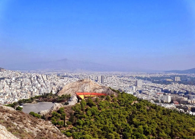 Mount Lycabettus Athens Greece 1