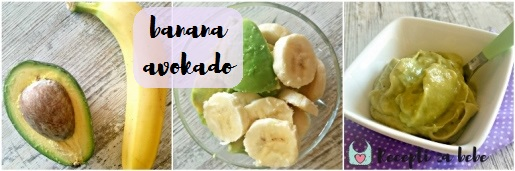 avokado i banana za bebe