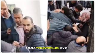 (بالفيديو) امام وزارة التعليم العالي: الاعتداء بالغاز المسيل للدموع لفك إعتصام الدكاترة المعطلين عن العمل