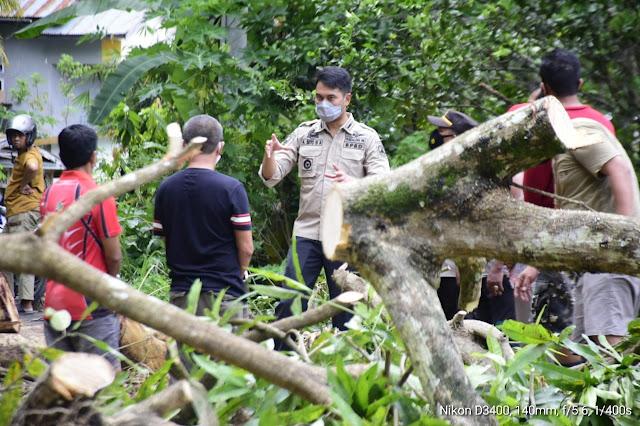 Bupati ASA Turun Langsung Pantau Titik Bencana