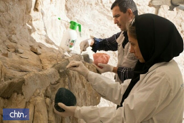 Restoration of Iran's royal equestrian relief nears completion