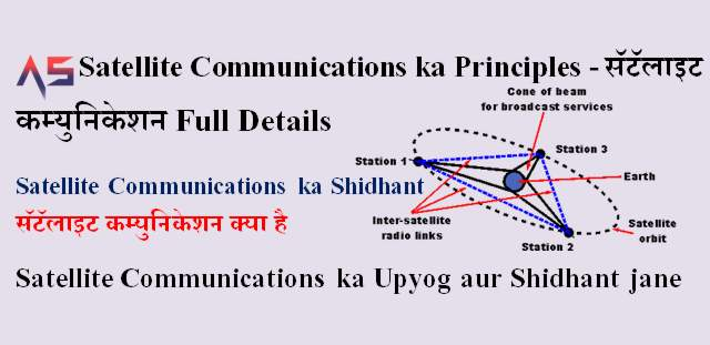 Satellite Communications ka Principles - सॅटॅलाइट कम्युनिकेशन Full Details