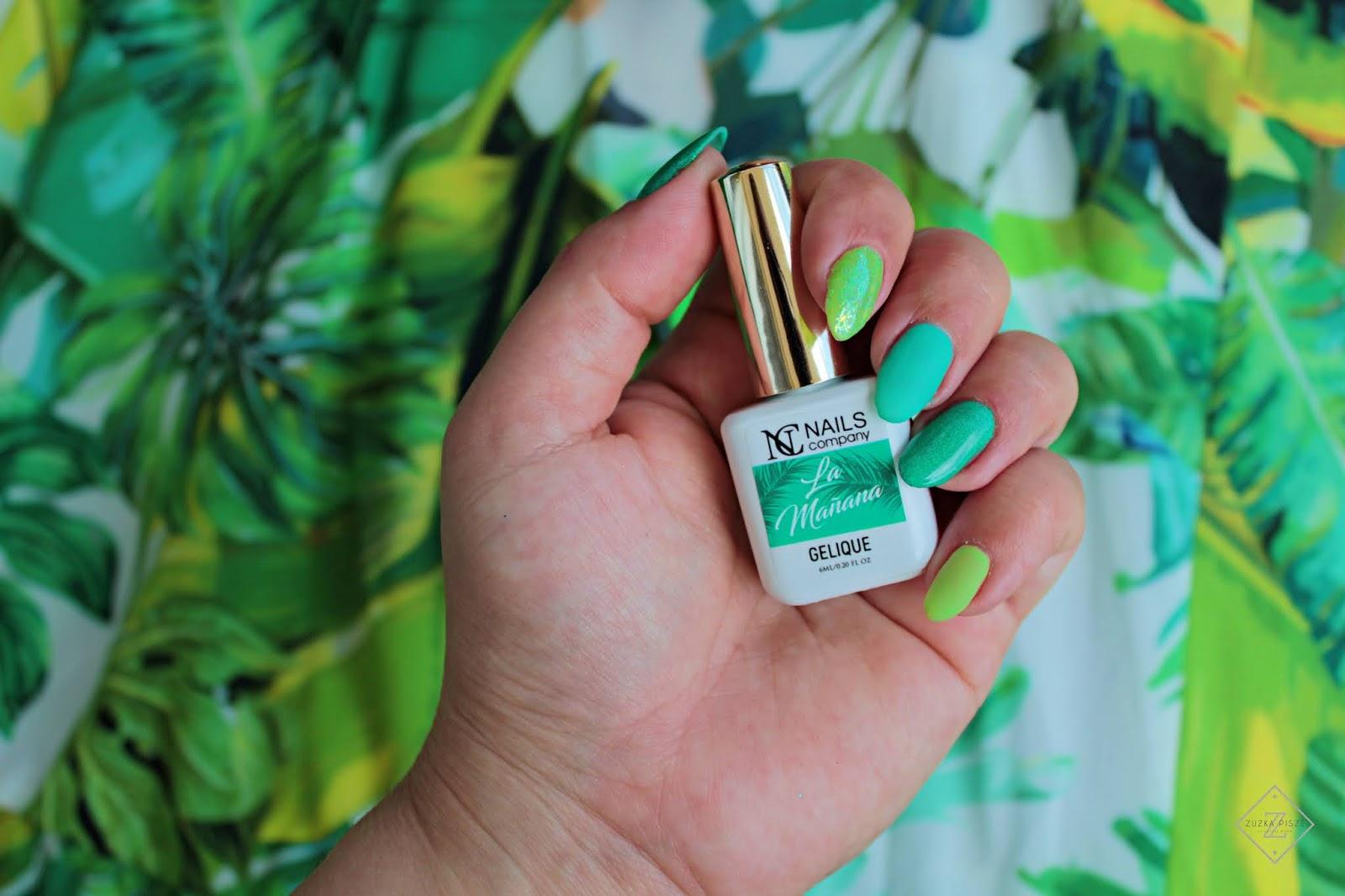 Lakier hybydowy NC Nails Company LA MANANA