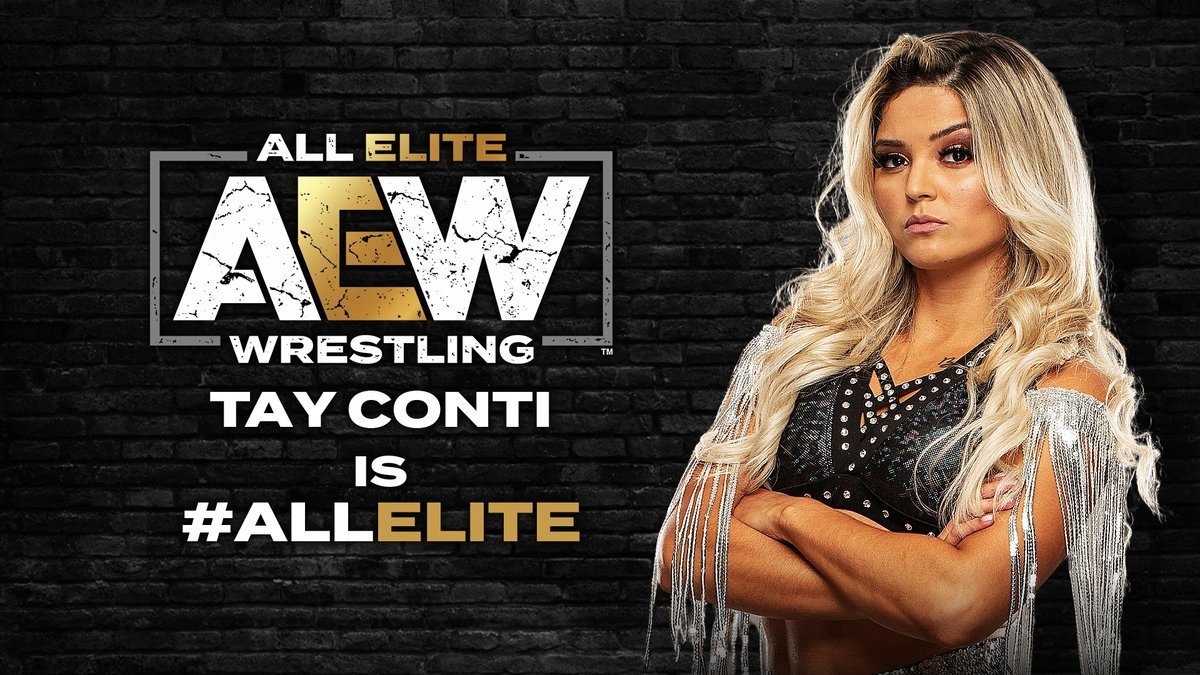 Taynara Conti assinou oficialmente com a All Elite Wrestling
