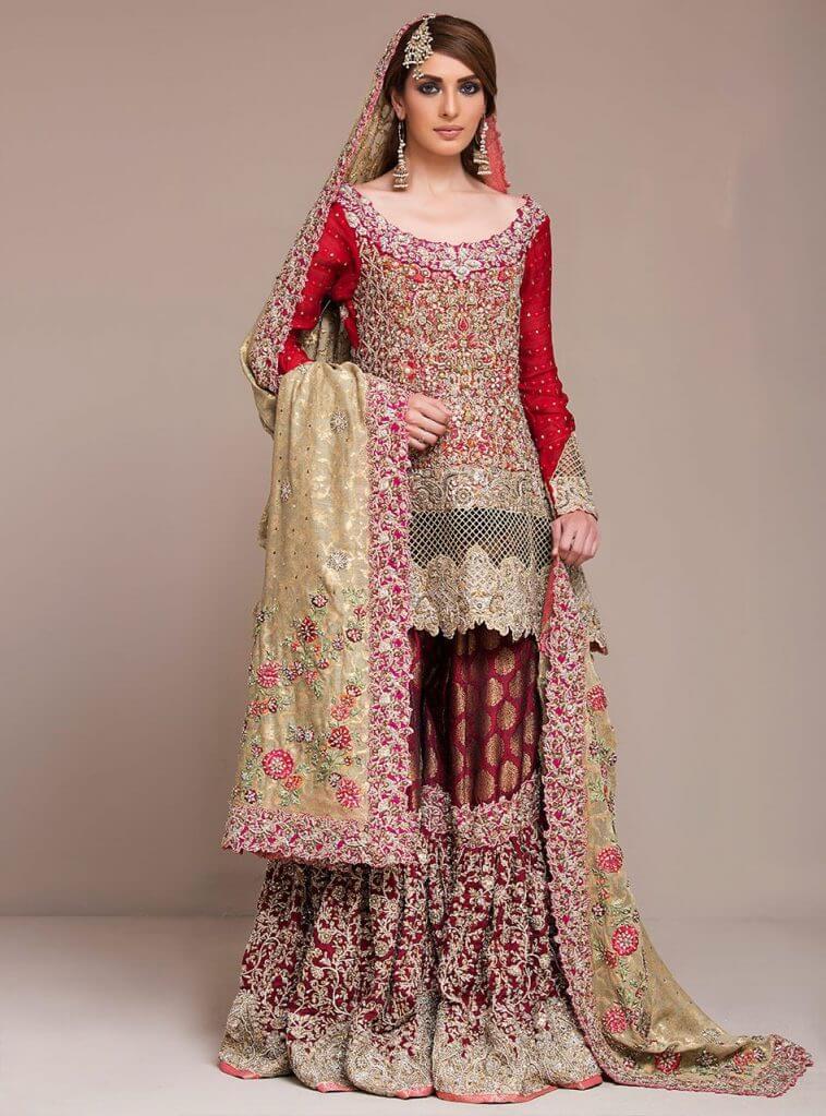 Zainab Chottani Pakistani Bridal Barat Dresses Online