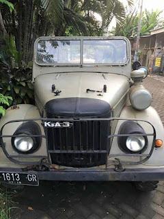 JURAGAN MOBIL TUA : Dijual GAZ Commando Tahun 1956 Mesin Swap Taft Diesel 4200cc Tembus - MAGETAN