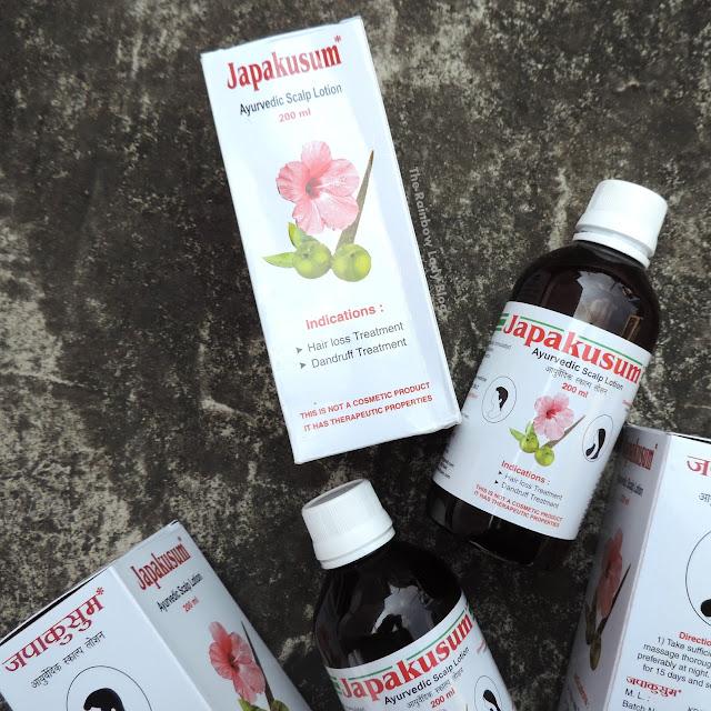 Japakusum Ayurvedic Scalp Lotion Review
